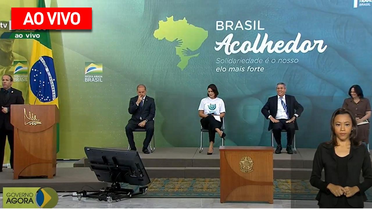 IMAGEM: AO VIVO: governo lança projeto Brasil Acolhedor