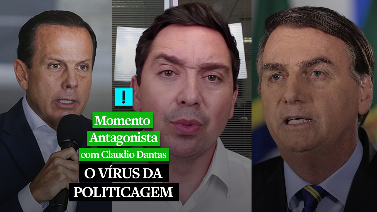 IMAGEM: Momento Antagonista: O VÍRUS DA POLITICAGEM