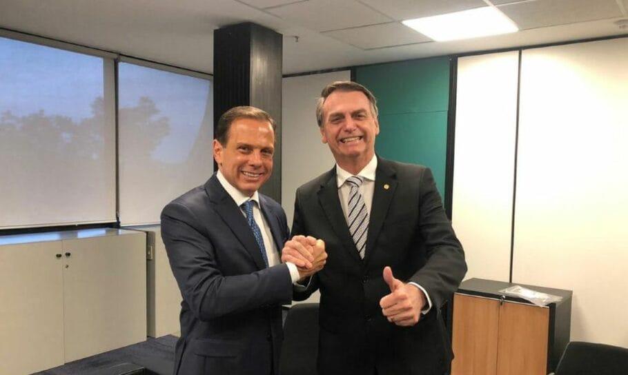 IMAGEM: O detalhe que separa Bolsonaro e Doria