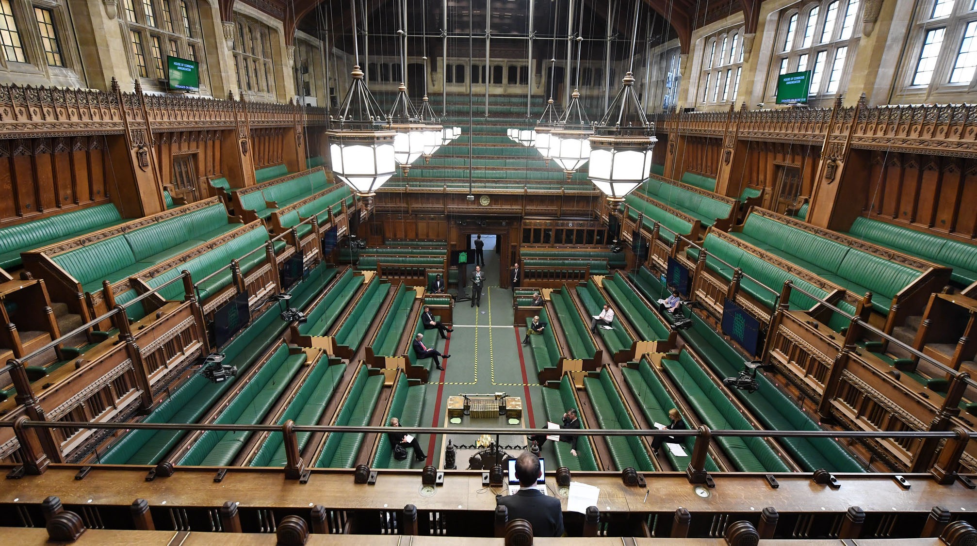 IMAGEM: 72% dos ingleses apoiam lockdown