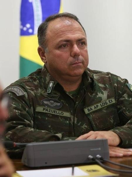 IMAGEM: Ministério da Saúde confirma que Pazuello cancelou agenda