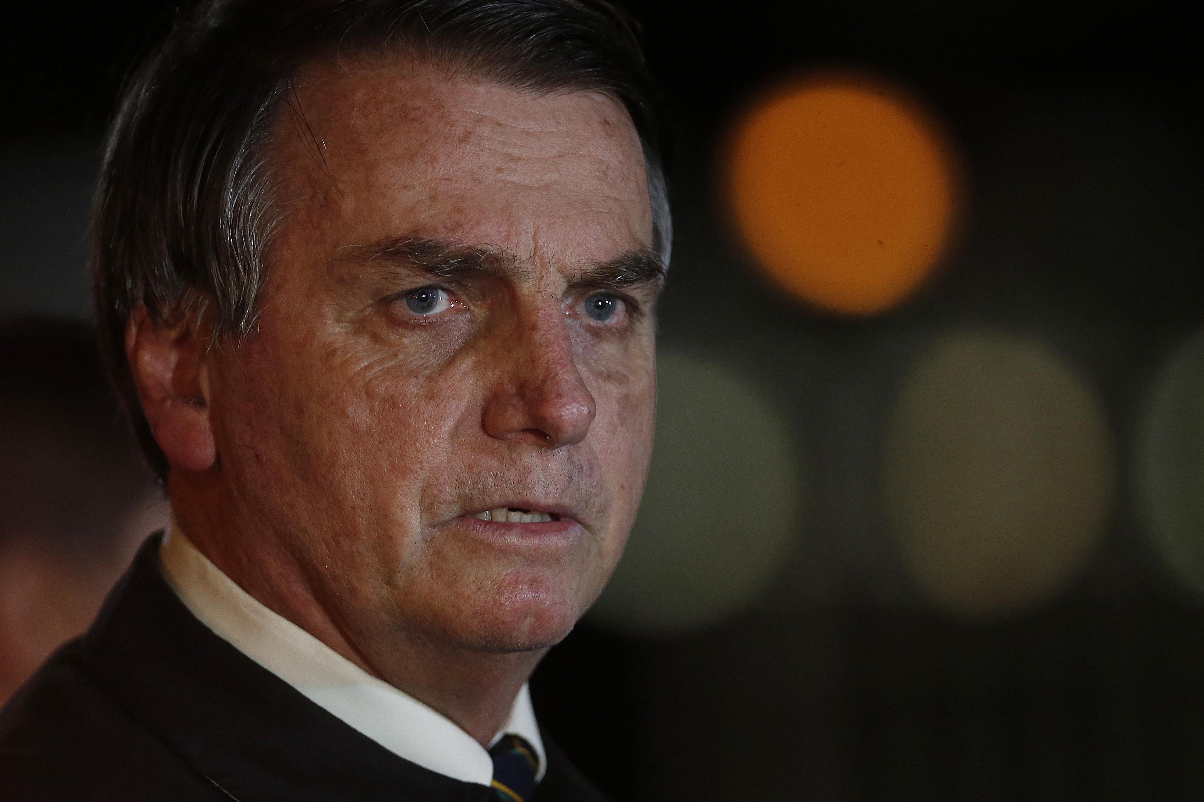 """IMAGEM: Bolsonaro: """"A dita fita bomba foi um fiasco"""""""