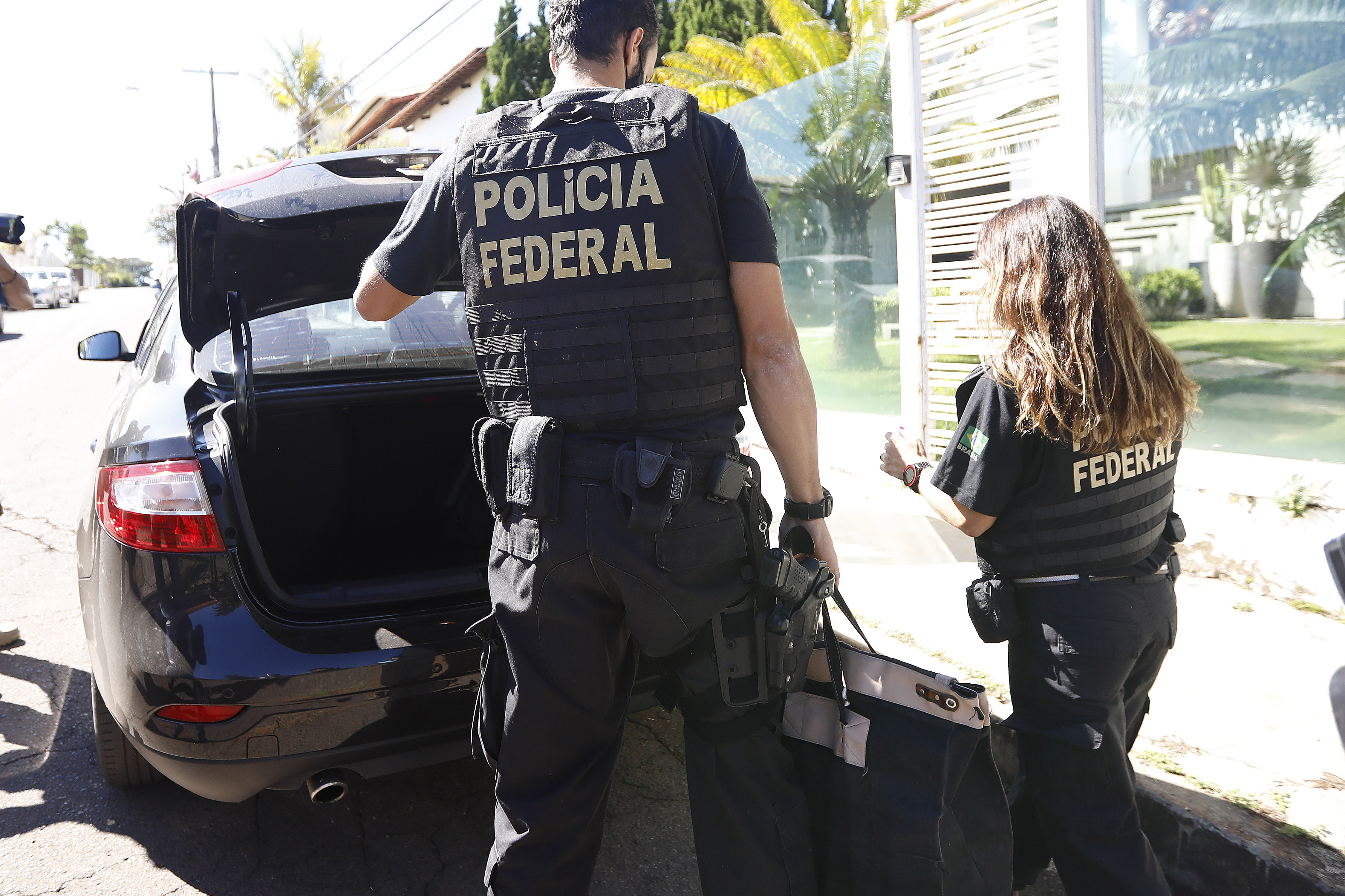 IMAGEM: PF investiga fraudes no Sistema S em Brasília