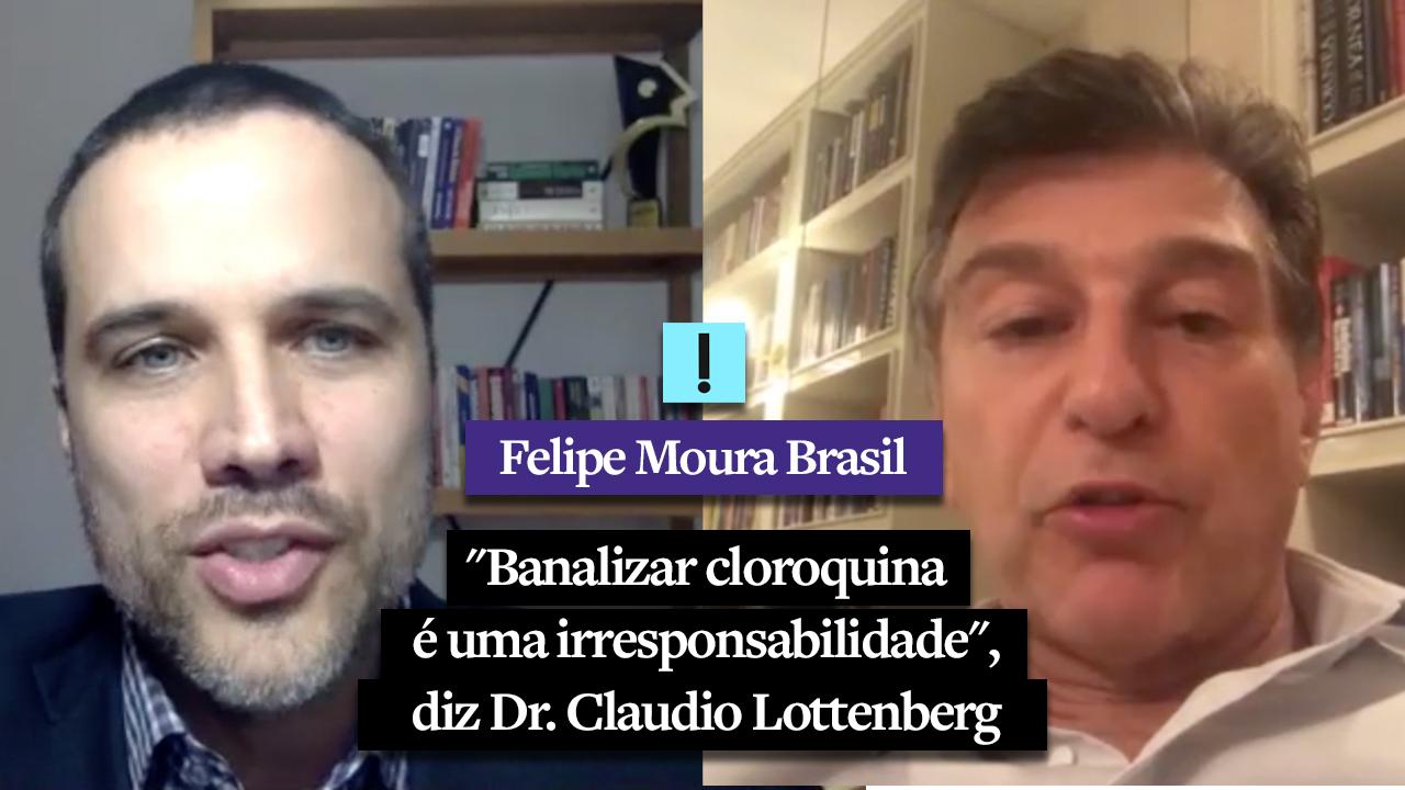 """IMAGEM: Vídeo: """"Banalizar cloroquina é uma irresponsabilidade"""", diz Dr. Claudio Lottenberg"""