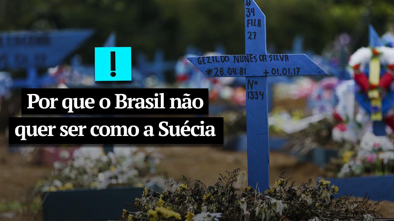 IMAGEM: Vídeo: por que o Brasil não quer ser como a Suécia