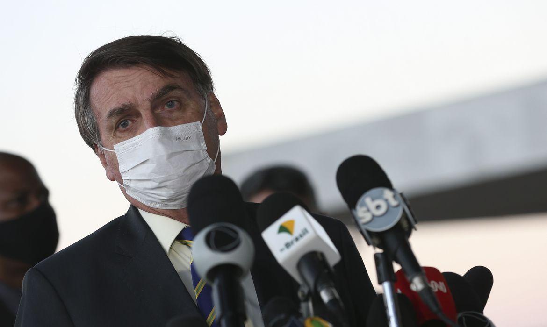 IMAGEM: Planalto não informa se Bolsonaro fez exame de sangue para detectar 'contato' com coronavírus