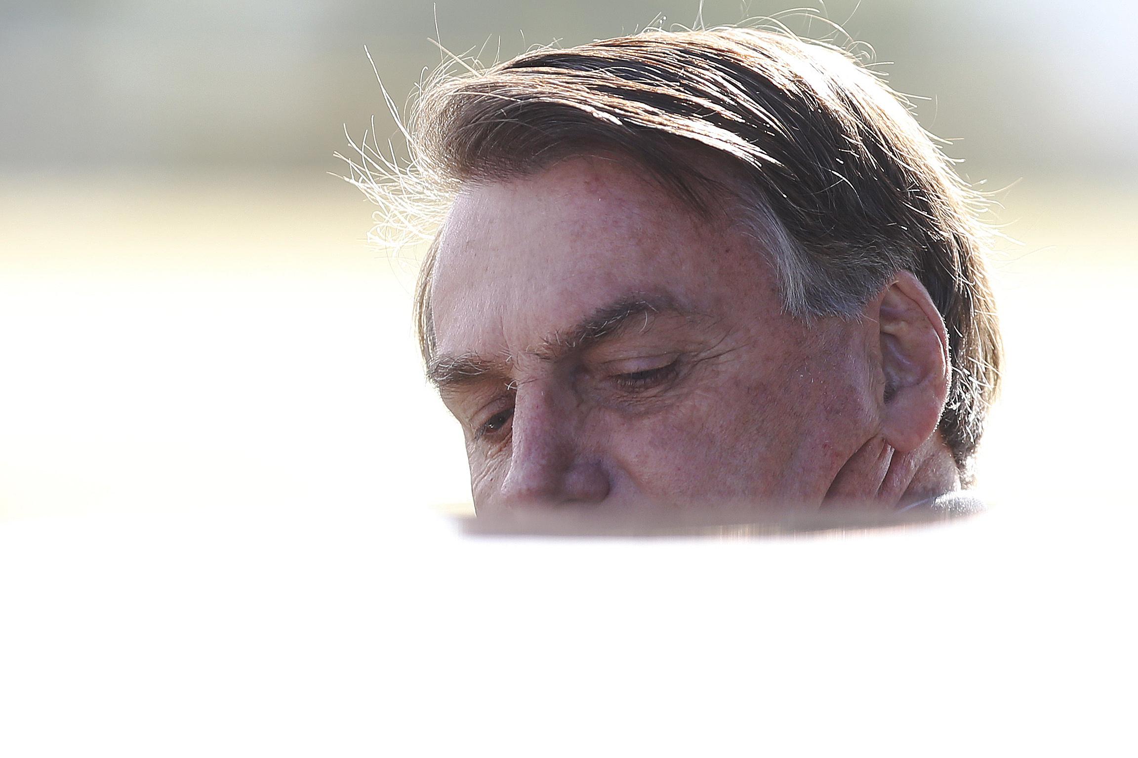 IMAGEM: Bolsonaro, o 'insatisfeito', promoveu responsável por segurança presidencial