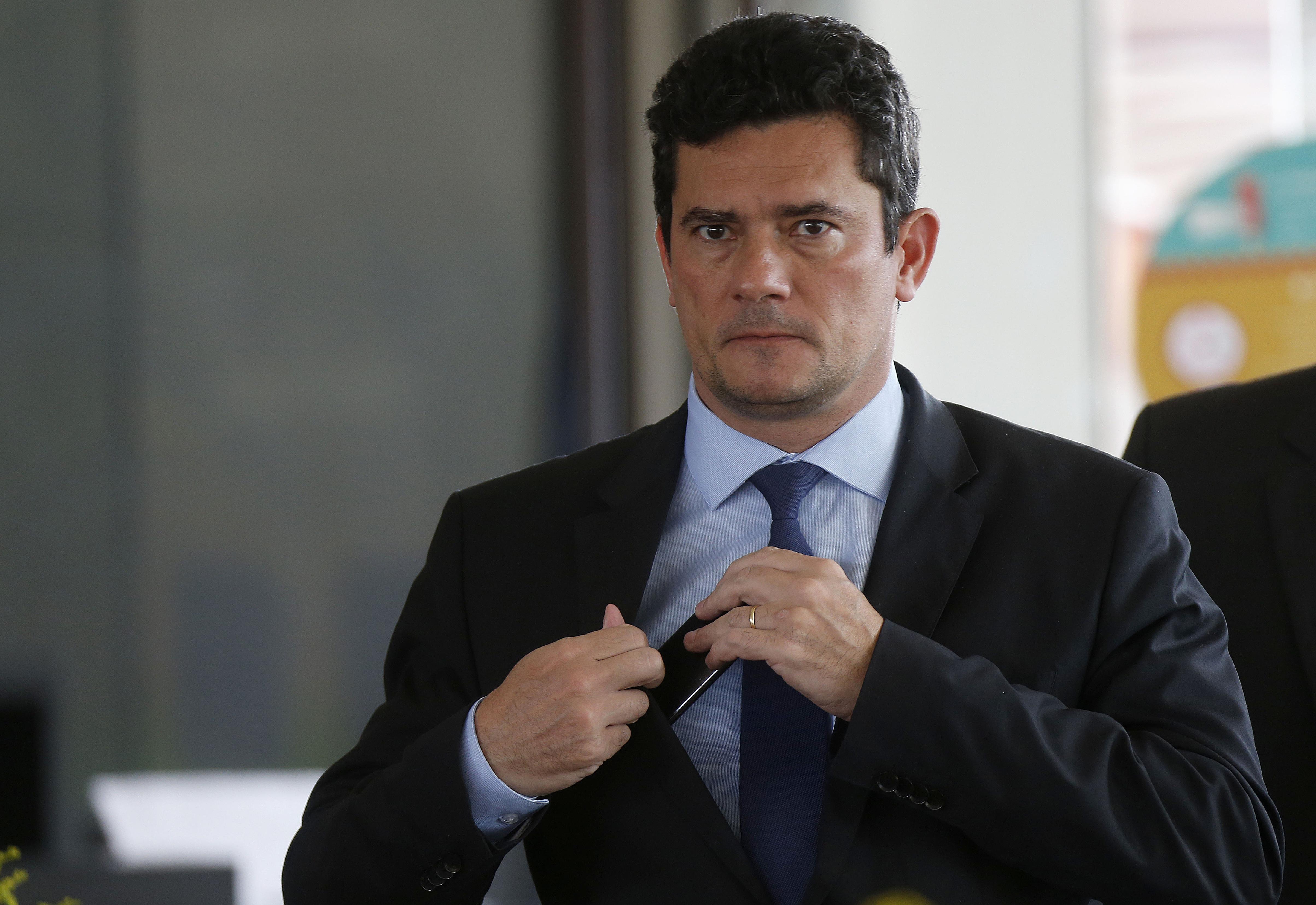 IMAGEM: PF intima Moro a depor em inquérito sobre atos antidemocráticos
