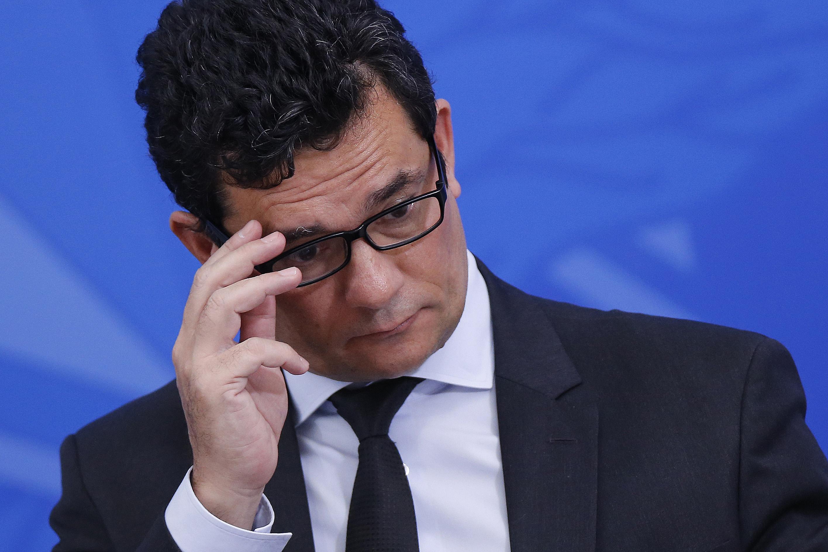 IMAGEM: Moro fala a jornal espanhol e diz não ver risco de ruptura democrática