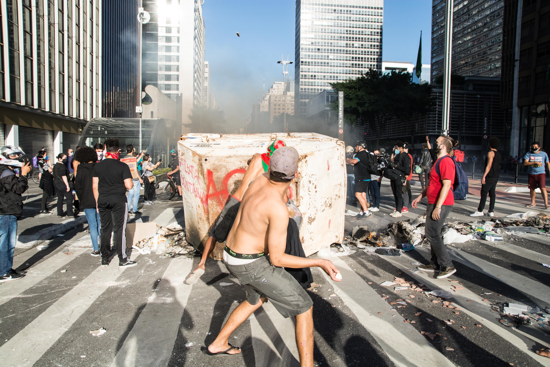 IMAGEM: Justiça proíbe manifestações pró e contra Bolsonaro na Paulista neste domingo