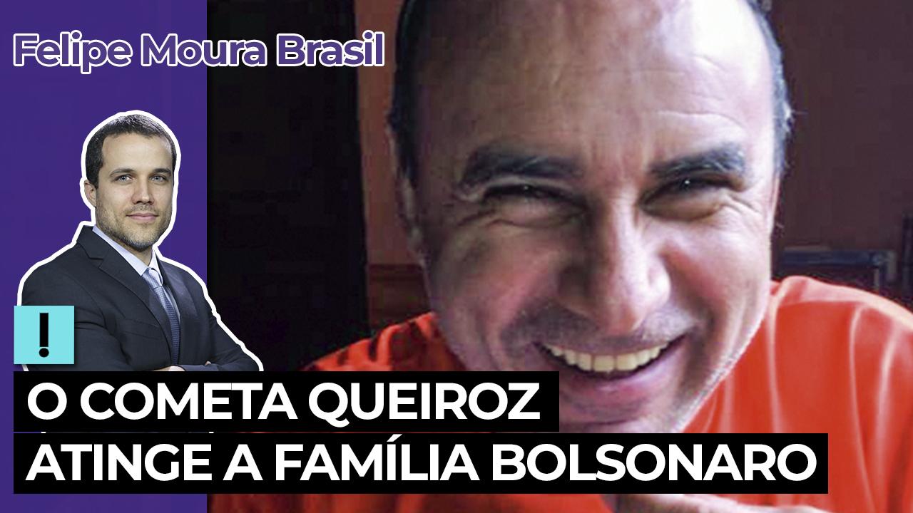 IMAGEM: Vídeo: O cometa Queiroz atinge a família Bolsonaro