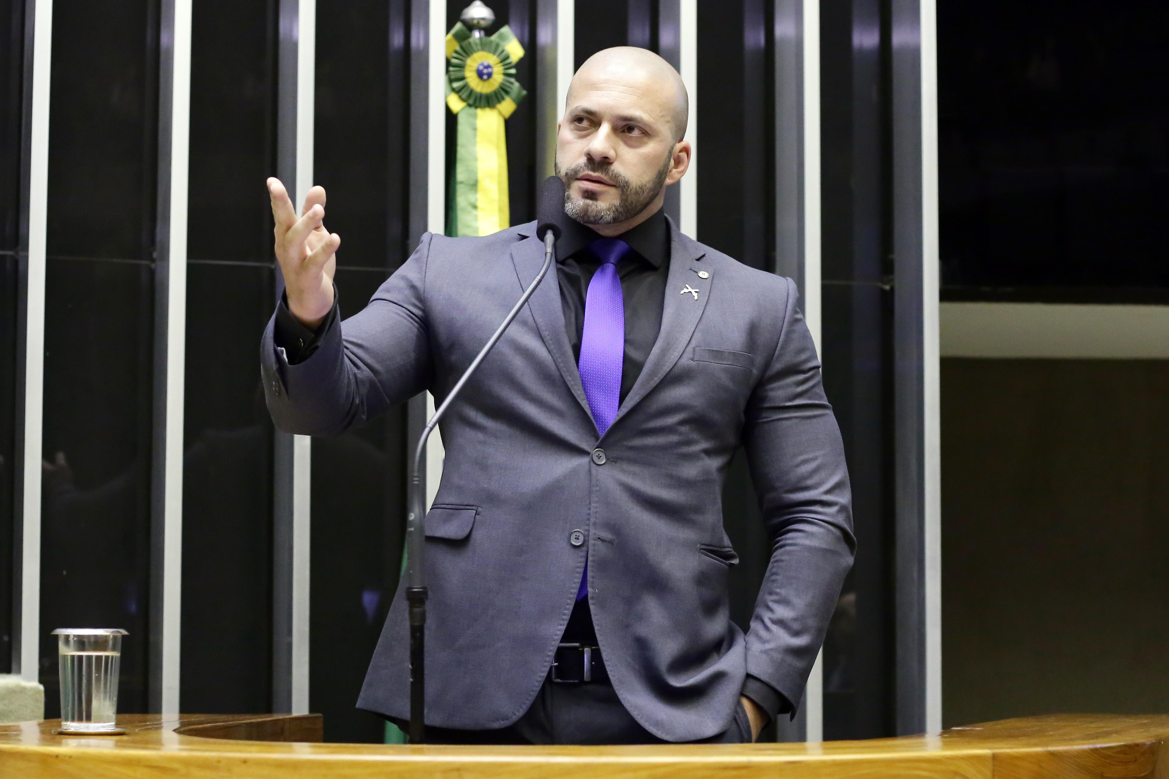 IMAGEM: Os projetos apresentados por Daniel Silveira na Câmara
