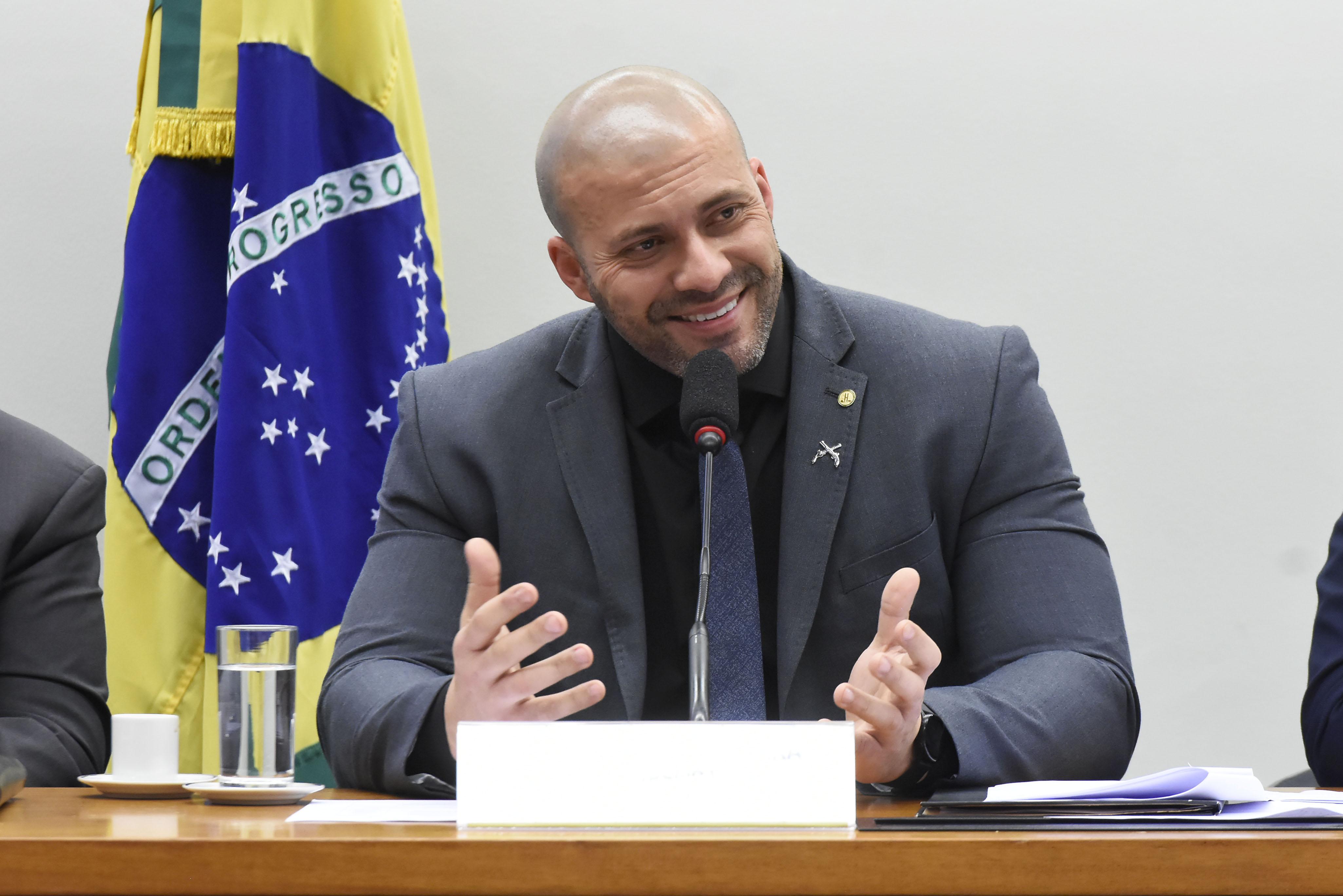 STF analisa denúncia contra Daniel Silveira na próxima quinta-feira