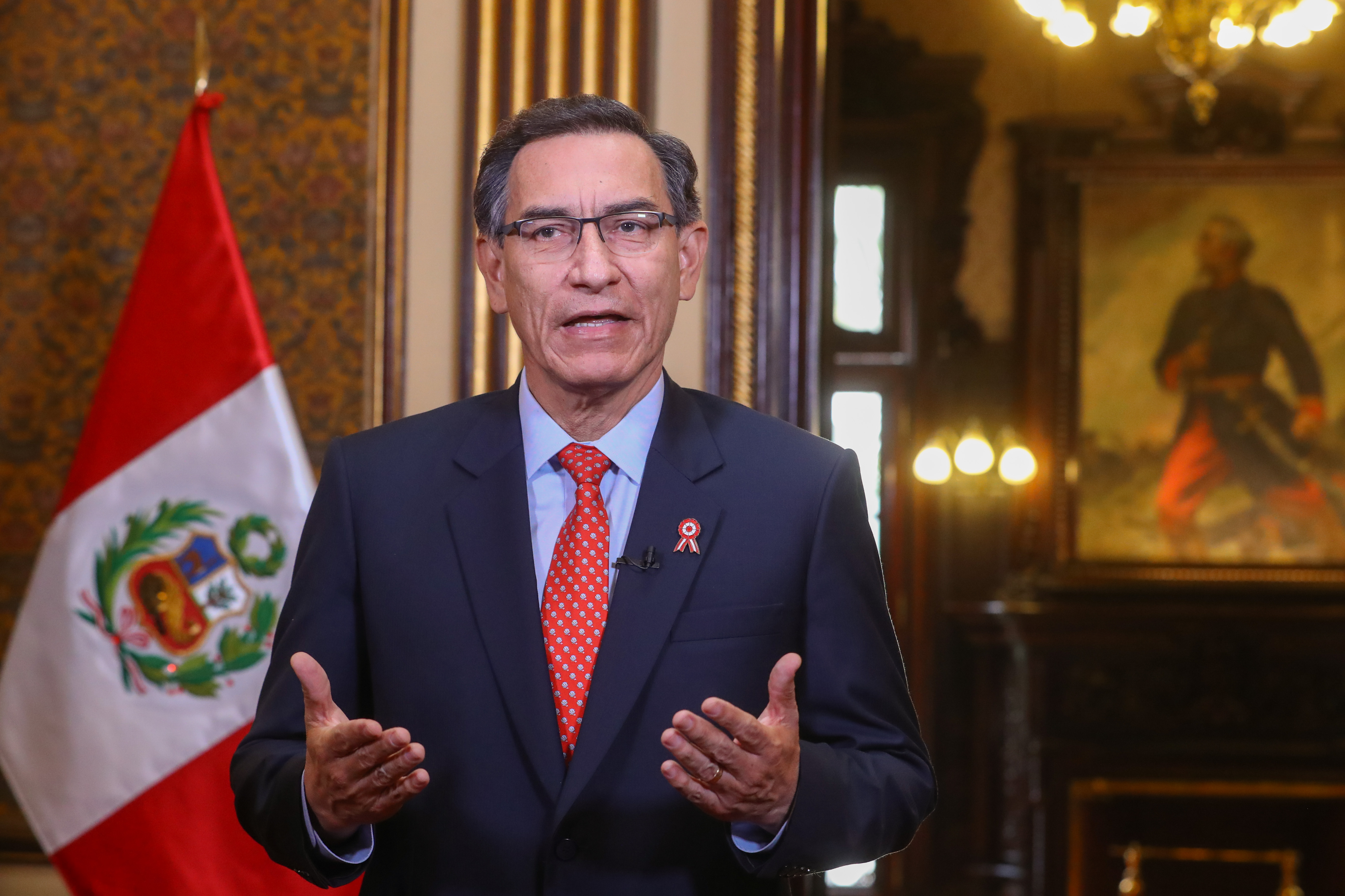 IMAGEM: Ex-presidente peruano que furou fila da vacinação está com Covid