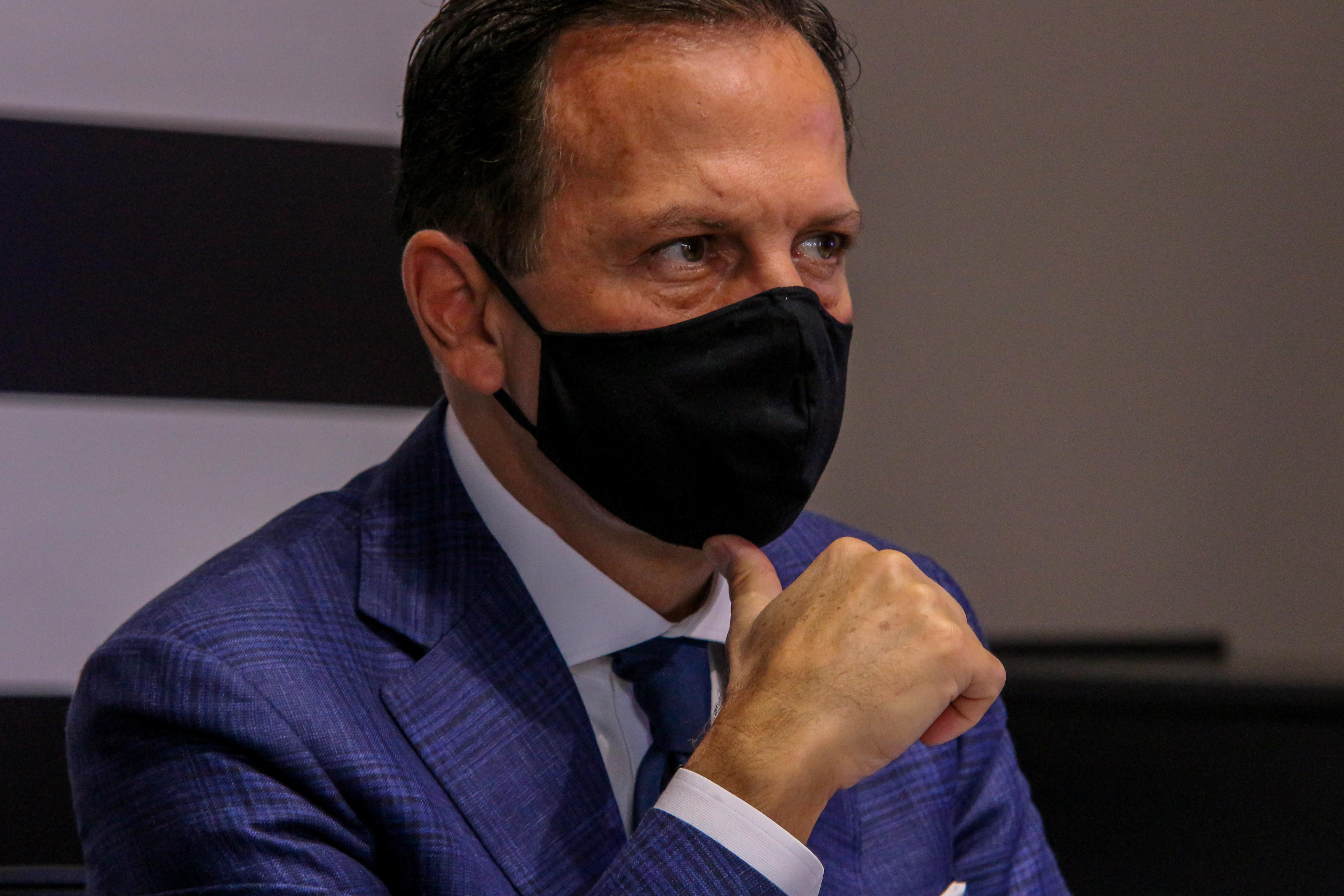 IMAGEM: Doria: MP do confisco de vacinas é 'ataque ao federalismo'