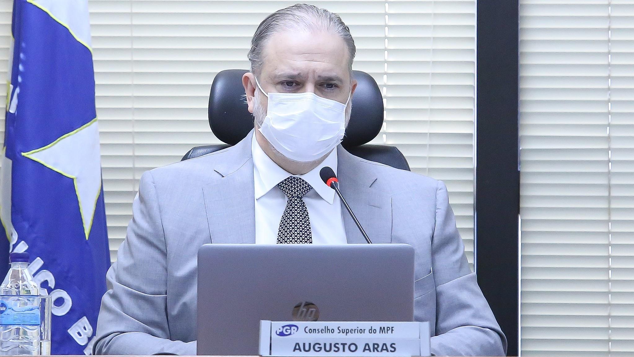 IMAGEM: Aras diz não ver irregularidade em convocação de governadores pela CPI da Covid