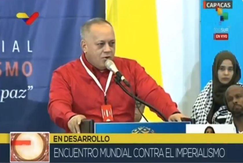 IMAGEM: Tribunal da Venezuela condena jornal por publicar notícia sobre ligação do governo com narcotráfico