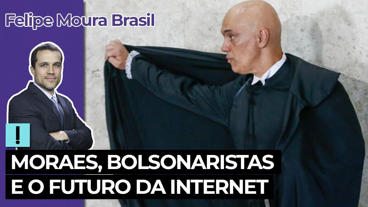 IMAGEM: Vídeo: Moraes, bolsonaristas e o futuro da internet
