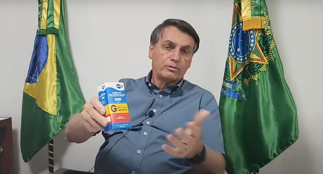 IMAGEM: Juiz afirma que campanha de Bolsonaro por 'kit Covid' faz parte do livre discurso político