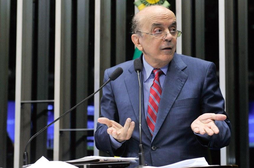 IMAGEM: PGR pede que investigação sobre caixa 2 de Serra volte para a Justiça Eleitoral