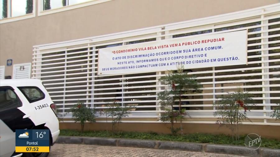 IMAGEM: Condomínio repudia ofensas racistas de morador a entregador