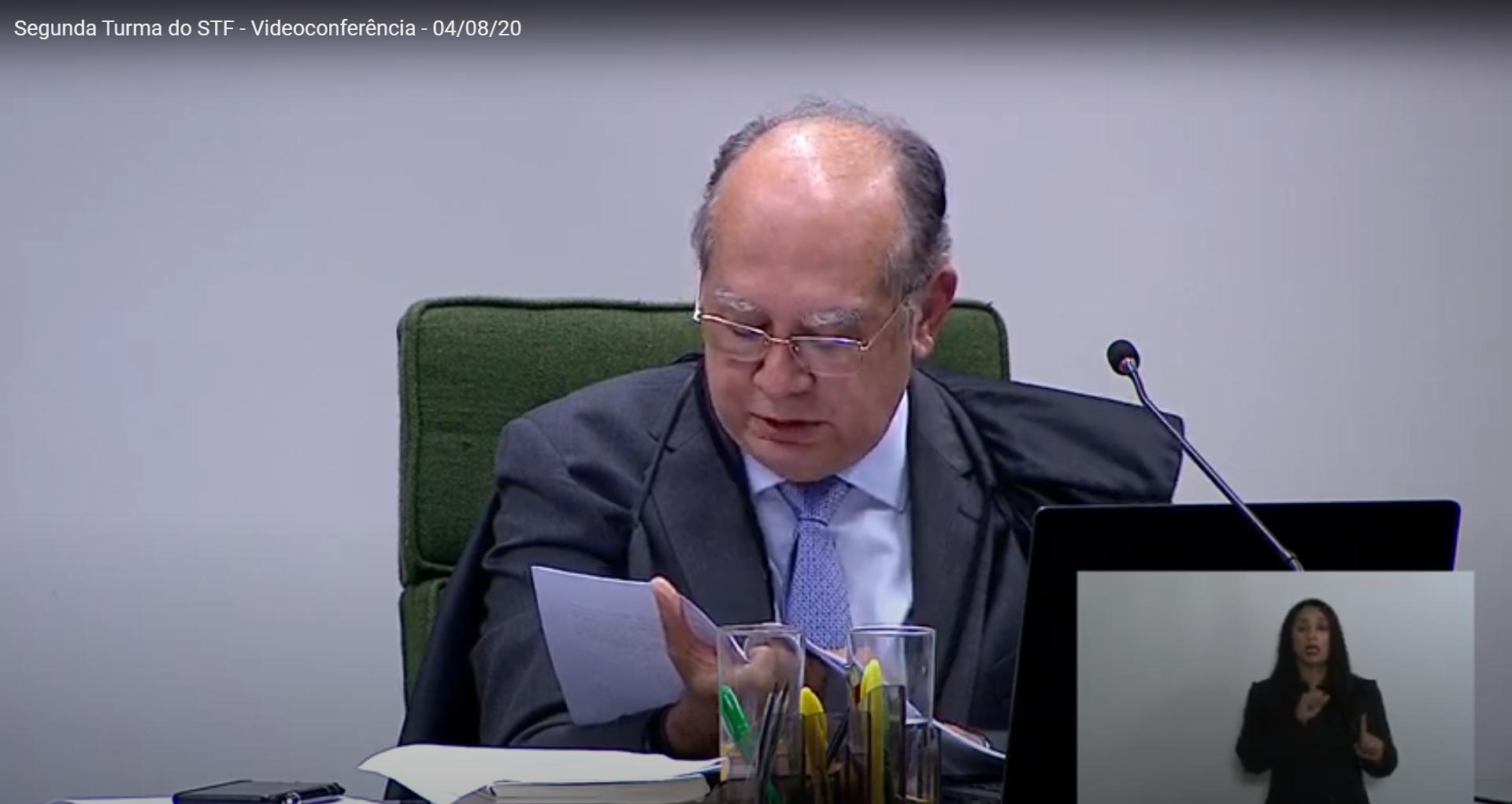 IMAGEM: Gilmar pede a Aras 'ajustes' em acordo de delação com acusações contra Bretas