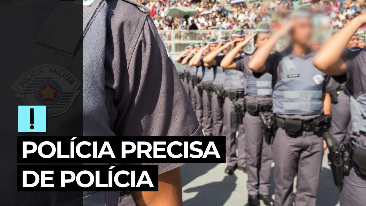IMAGEM: Vídeo: polícia precisa de polícia