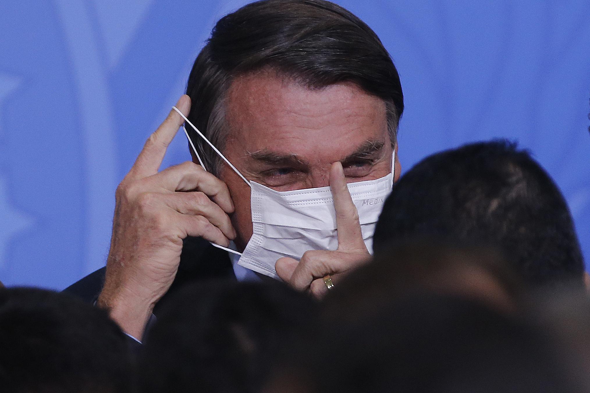 IMAGEM: O inconformismo com o vídeo raivoso de Bolsonaro