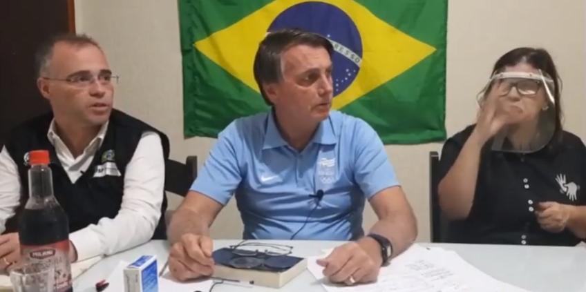 "IMAGEM: ""Bolsonaro Fujão"""