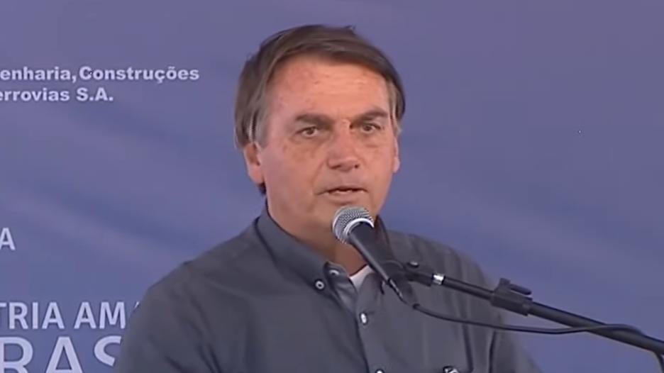 IMAGEM: 'Algumas ONGs comandam crimes ambientais', afirma Bolsonaro em discurso