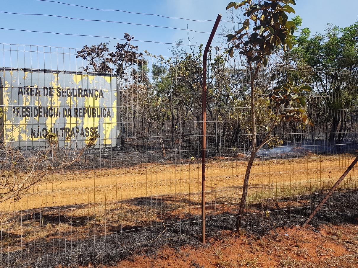 IMAGEM: Fogo no Jaburu