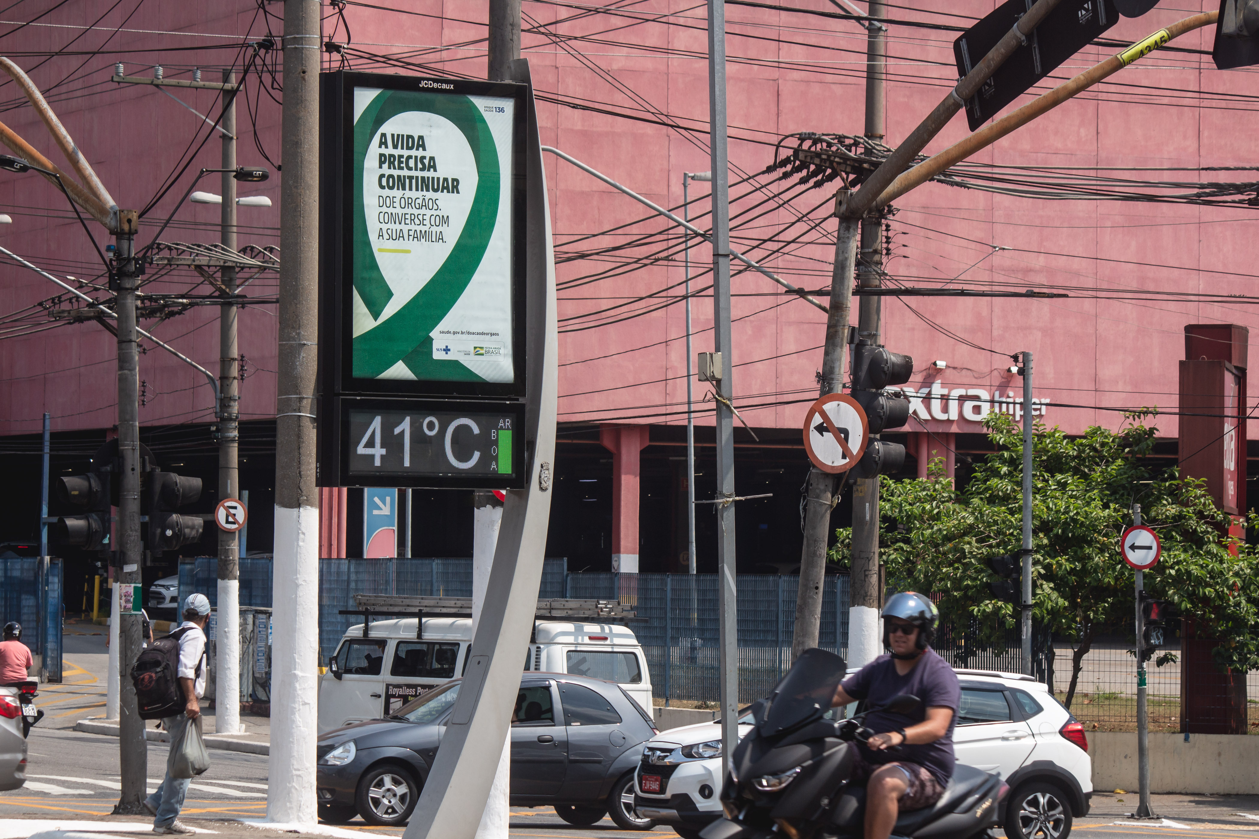 IMAGEM: Inmet emite alerta para o perigo de morte em razão do calor
