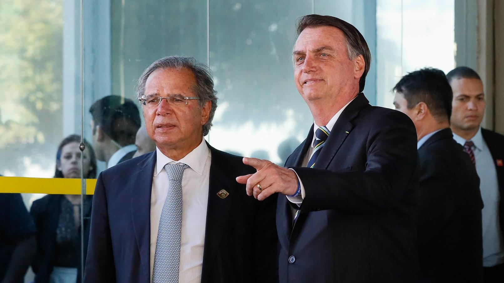 IMAGEM: Guedes diz que o governo tem 'tudo preparado' para a 'retomada do crescimento'
