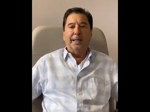 IMAGEM: Filho diz que Maguito Vilela acordou da sedação e soube que venceu a eleição