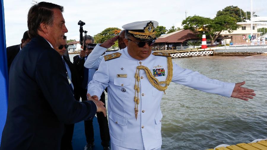 IMAGEM: Bolsonaro escolhe Almirante Rocha para Secretaria-geral, diz site