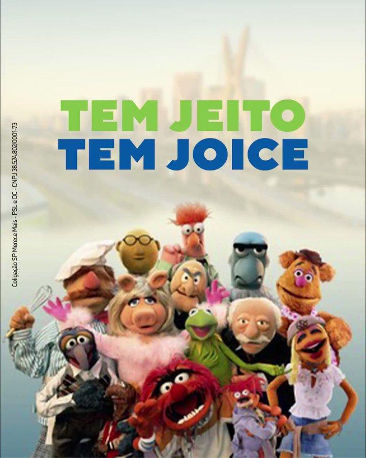 IMAGEM: Joice usou imagens dos Muppets sem autorização da Disney