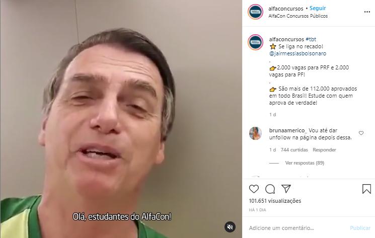 IMAGEM: Escolinha do professor Bolsonaro