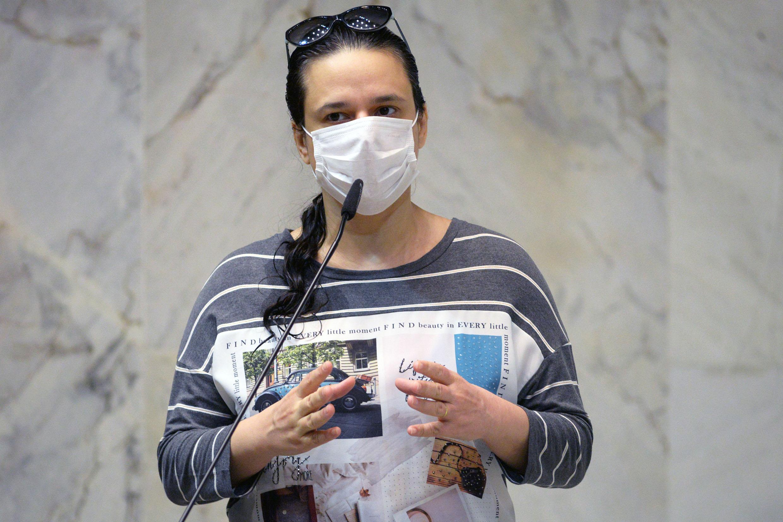 IMAGEM: Janaina Paschoal desistiu de convocar ex-chefe de gabinete da Saúde para aumentar chance de requerimento na CPI