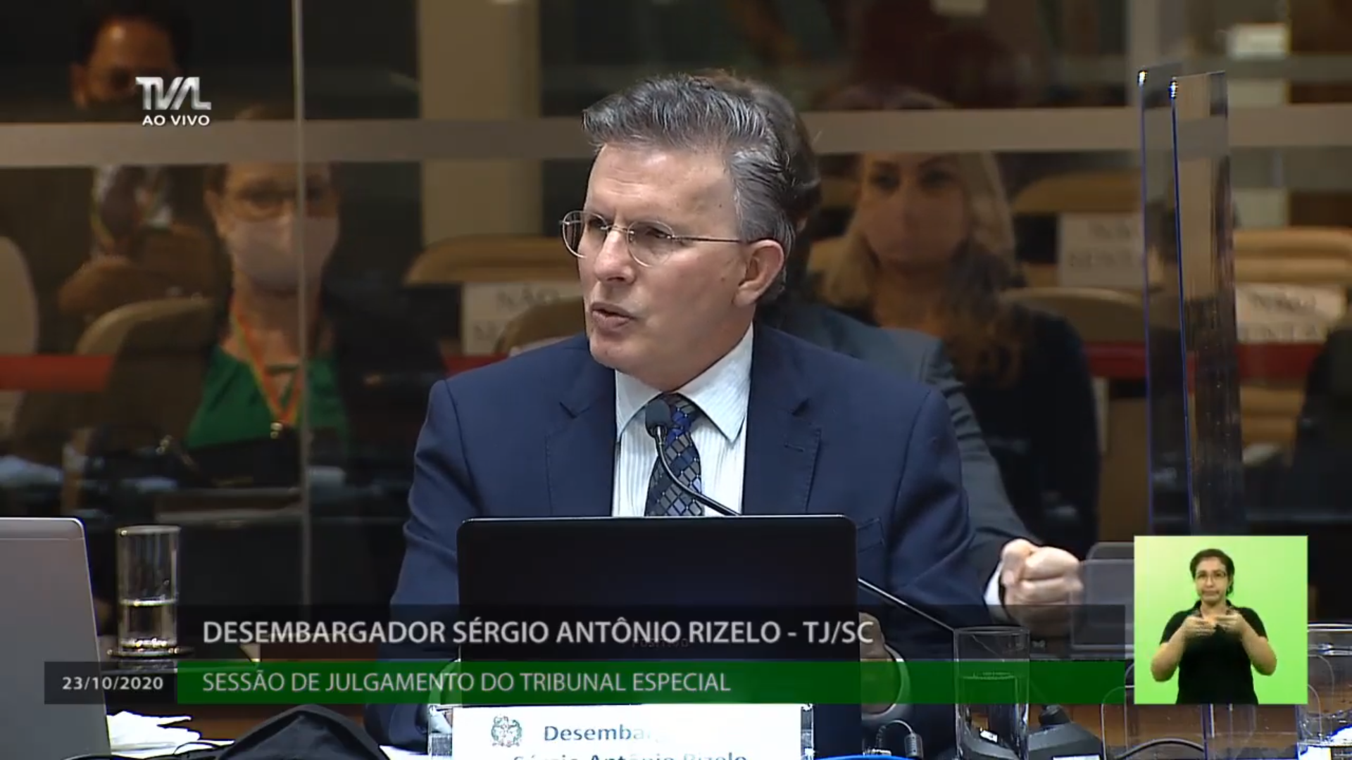 IMAGEM: 2×1: desembargador vota contra afastamento de Carlos Moisés em Santa Catarina