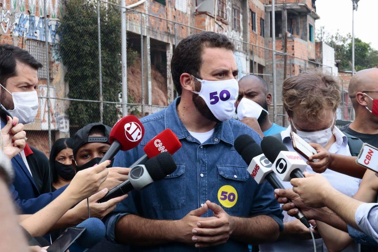 IMAGEM: Boulos pede para Globo manter debate de forma virtual