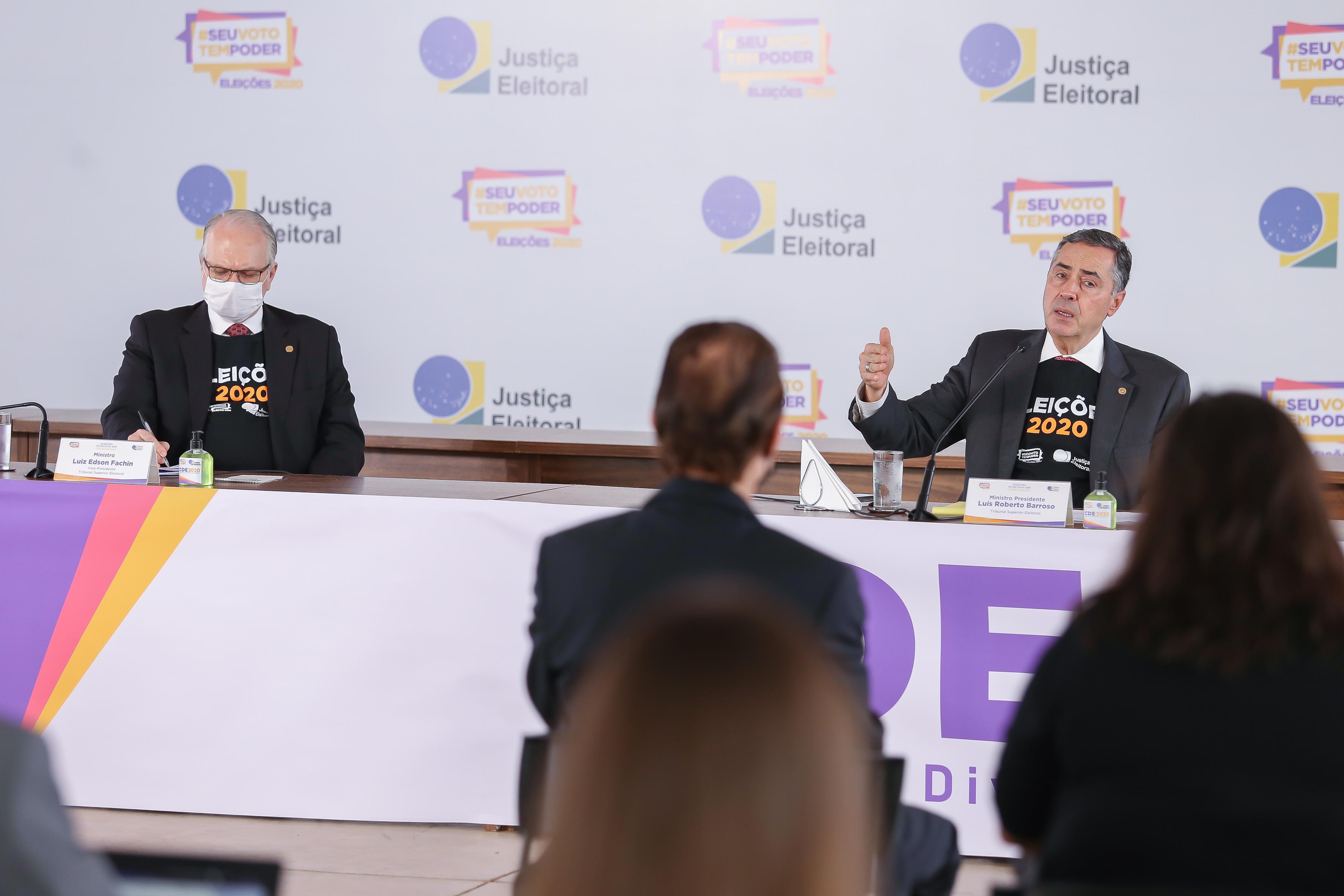 IMAGEM: Lentidão não traz 'risco à credibilidade do sistema', diz Barroso