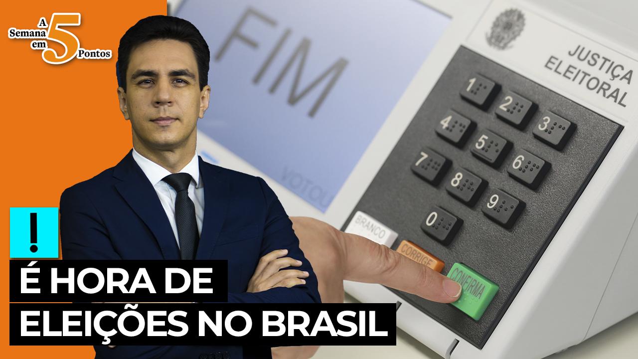 IMAGEM: A Semana em 5 Pontos: após derrota de Trump, é hora de eleições no Brasil