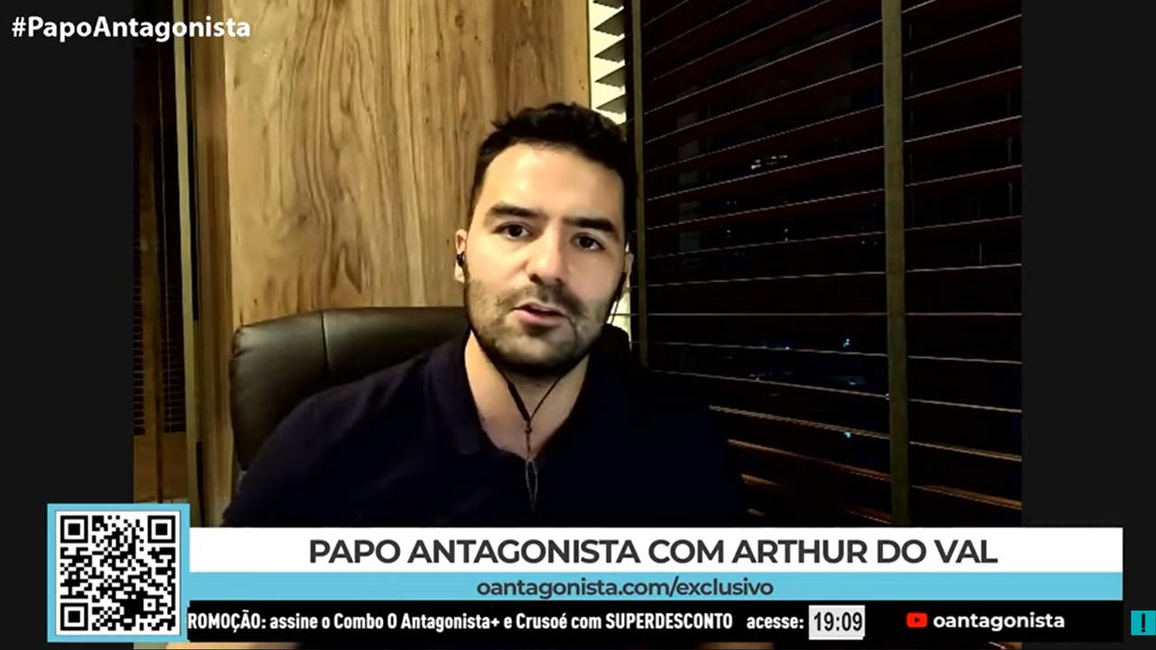 """IMAGEM: """"Se Bolsonaro se filiar ao Patriota, no dia seguinte estou fora"""""""