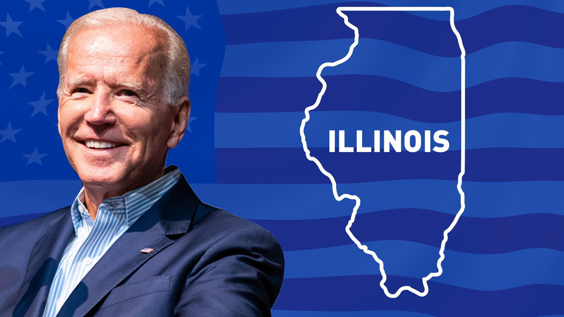 IMAGEM: Biden vence no Illinois