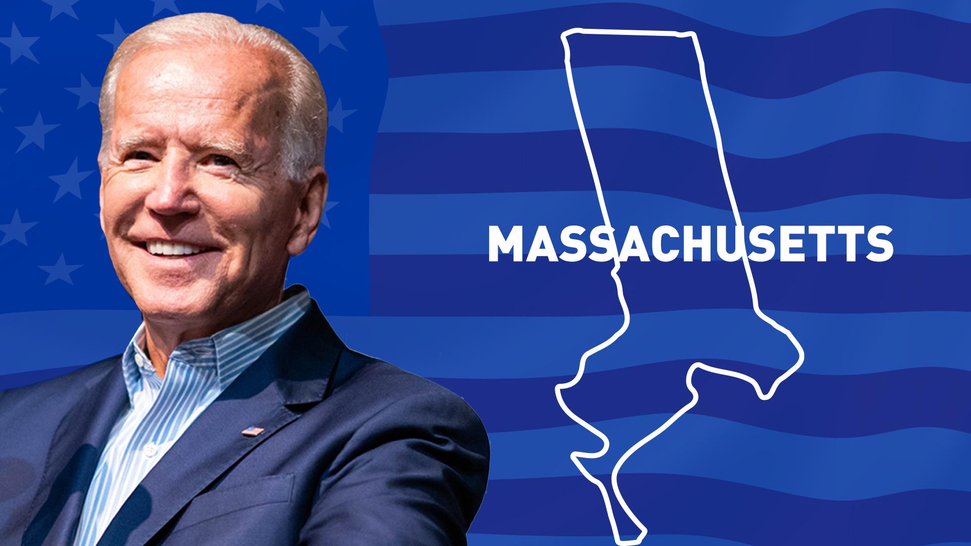 IMAGEM: Biden vence no Massachusetts