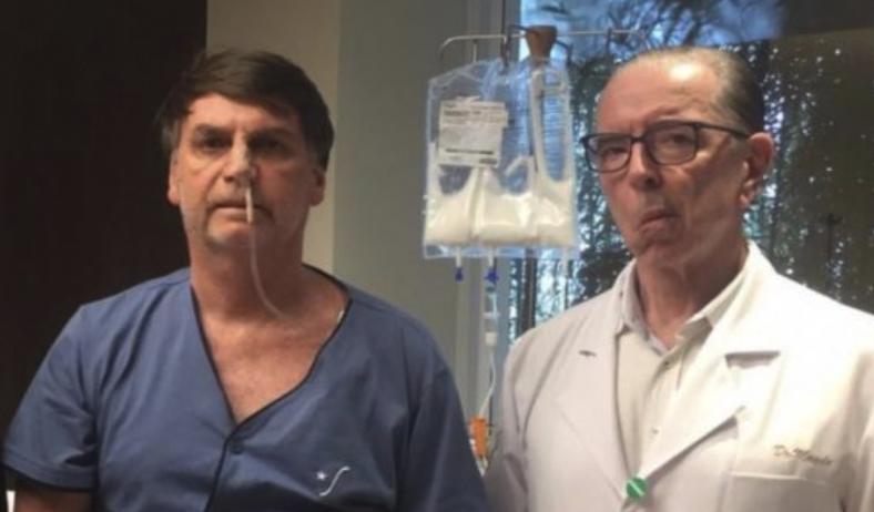 IMAGEM: Médico de Bolsonaro diz que vacina matou voluntário brasileiro