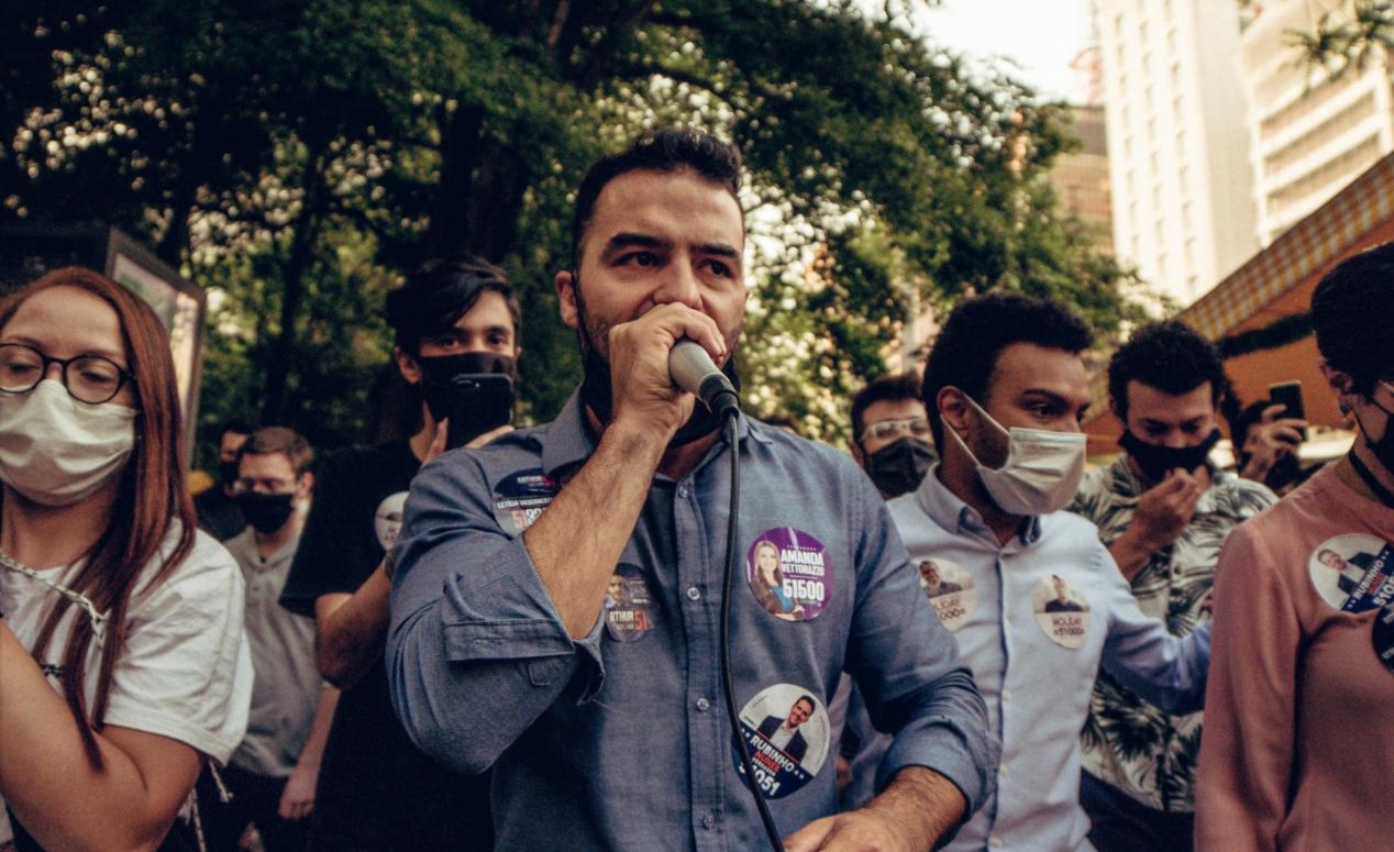 """IMAGEM: """"Medo eu tenho é de continuar num país governado pelo Bolsonaro"""""""