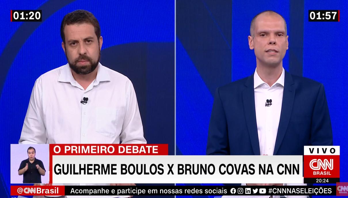 IMAGEM: Boulos acusa Covas de tratar cracolândia 'na porrada'