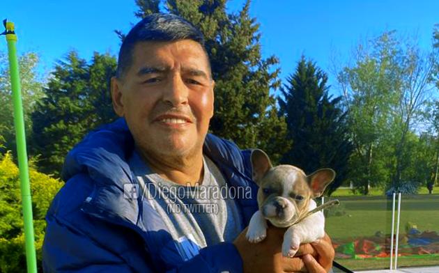 IMAGEM: Em 1ª reunião com Fernández, Bolsonaro lamenta morte de Maradona