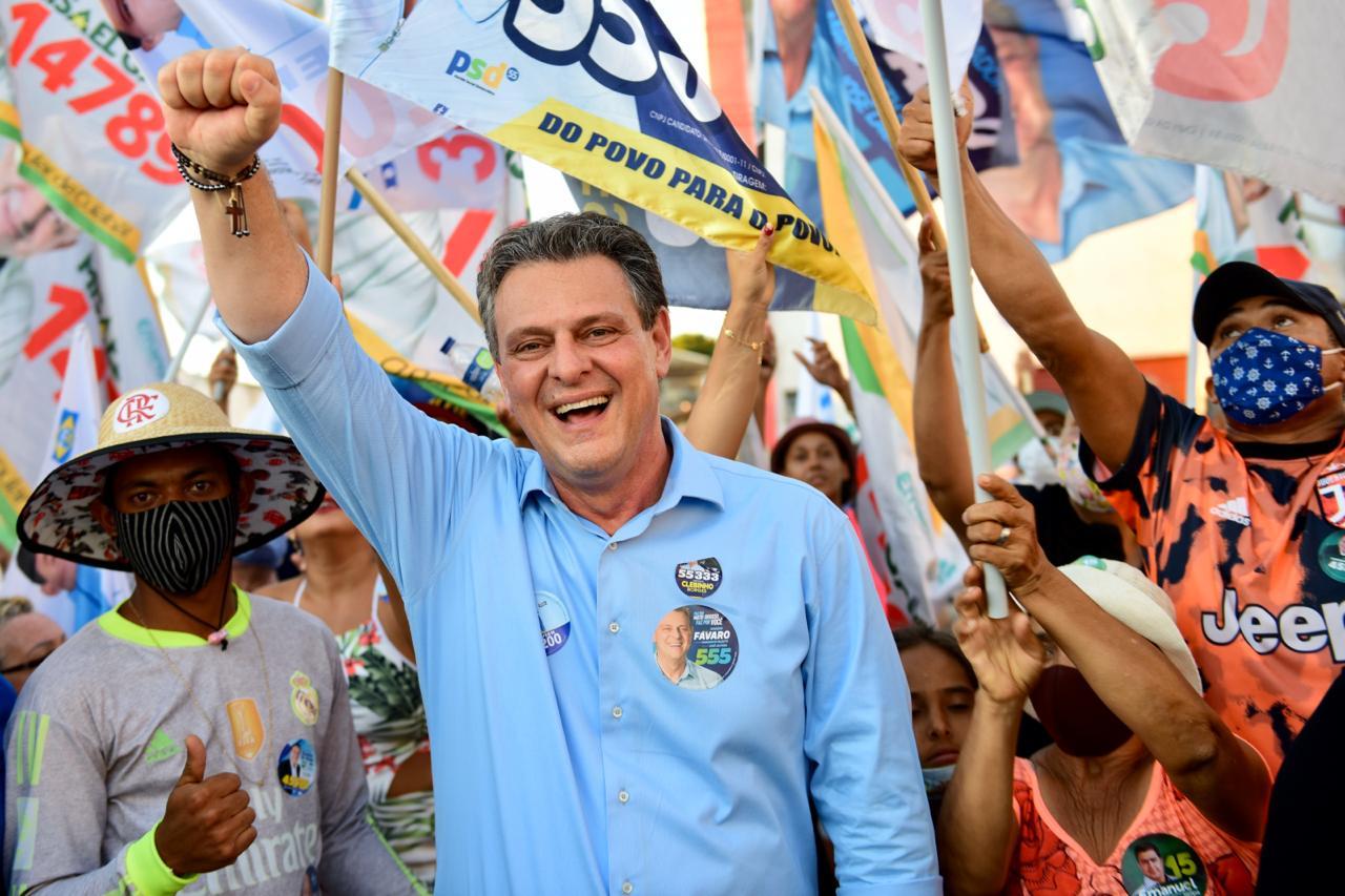IMAGEM: Fávaro garante vaga no Senado em eleição suplementar no MT